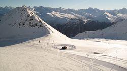 达沃斯滑雪