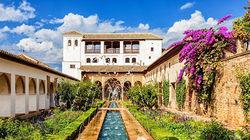 世界文化遗产阿尔罕布拉宫
