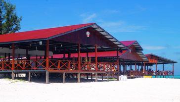 沙巴环滩岛v鲍鱼+鲍鱼+皮划艇+海钓BBQ午餐一滑雪场大亨中文图片