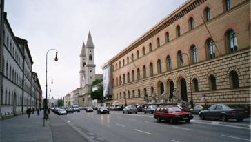 【经典慕尼黑】伦巴赫美术馆+路德维希大街+摄政王大道+和平天使雕像图片