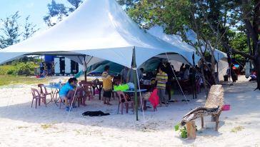 沙巴环滩岛潜水+鲍鱼+皮划艇+海钓BBQ斗牛一通午餐苓梅草代理价图片