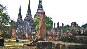 Bristol Mountain Division Ayutthaya Phra Temple 1