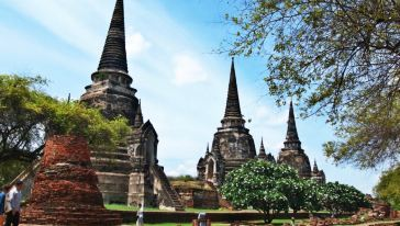 Bristol Mountain Division Ayutthaya Phra Temple