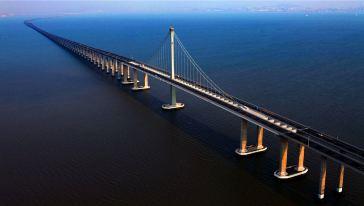 青岛海外欧亚黄岛线-跨海大桥图片