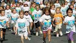 少女峰地区-孩子们的马拉松