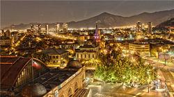 圣地亚哥夜景
