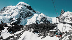 冰川天堂-可姚望超过4000米阿尔卑斯山群峰