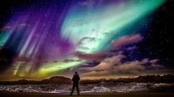 冰岛极光盛况