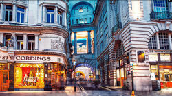 伦敦城市文化的象征之摄政街