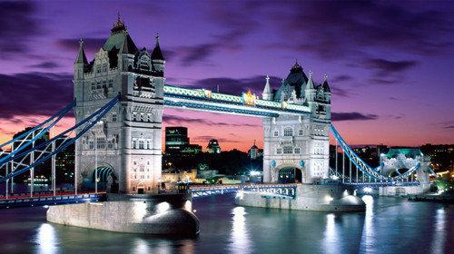 英国的标志-伦敦塔桥
