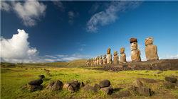 复活节岛 神奇的莫埃石像