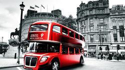 伦敦标志性元素-红色巴士