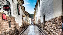 库斯科老城石板路