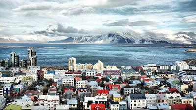 """冰岛之都""""雷克雅未克"""""""