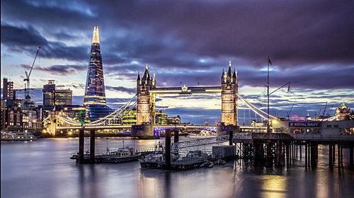 英国标志之伦敦塔桥