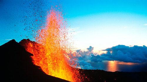 环岛 富尔奈斯火山 海岛休闲