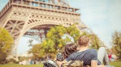 巴黎悠闲午后阳光
