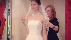 到米兰与婚纱设计师1对1沟通