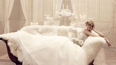 你值得拥有一件高级定制婚纱