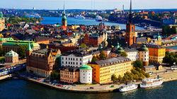 俯瞰斯德哥尔摩