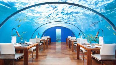 Ithaa海底餐厅