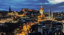 苏格兰首府爱丁堡