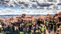 一座城堡形成的城市