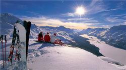 圣莫里茨滑雪天堂