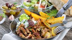 希腊式地中海特色餐