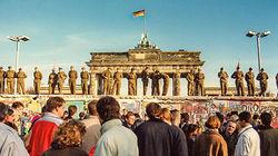 历史的阻隔-柏林墙