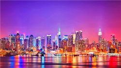 纽约迷人夜景