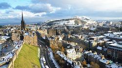 远眺爱丁堡