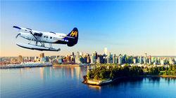 温哥华独特交通方式---水上飞机
