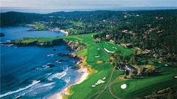 世界上具有挑战性的高尔夫球场——圆石滩