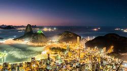 里约热内卢璀璨夜景
