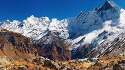 尼泊尔雪山