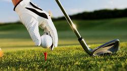 高尔夫开球