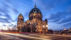 柏林大教堂夜景