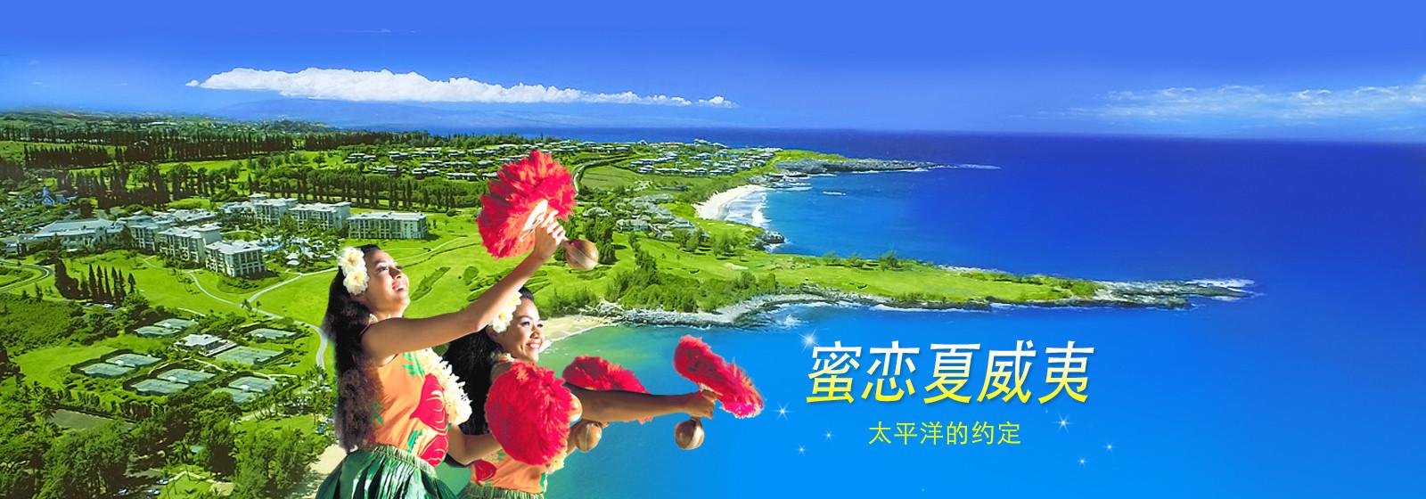 蜜恋夏威夷 太平洋的约定