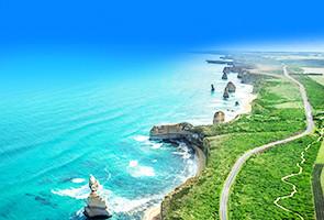 澳洲海岸奇景