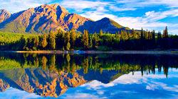 大自然的鬼斧神工-贾斯珀国家公园