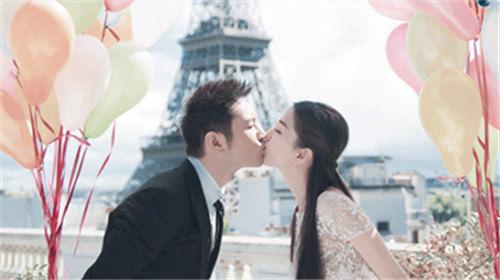 巴黎铁塔婚纱