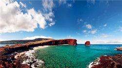 拉奈岛的标志-甜心岩