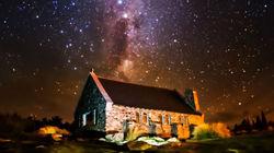 蒂卡波湖璀璨星空