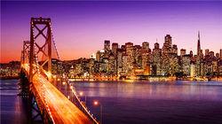旧金山夜景