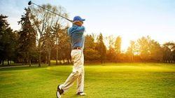 迷人的高尔夫运动