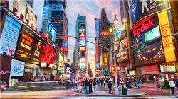 纽约曼哈顿的中轴线—第五大道