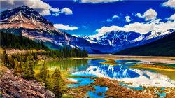 风景如画的贾斯珀国家公园