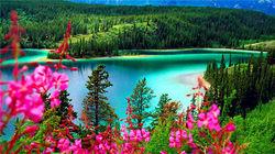 幽鹤国家公园—翡翠湖