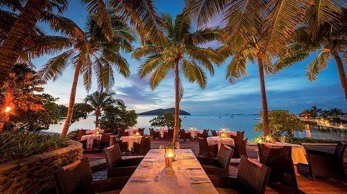 likuliku lagoon resort 露天餐厅